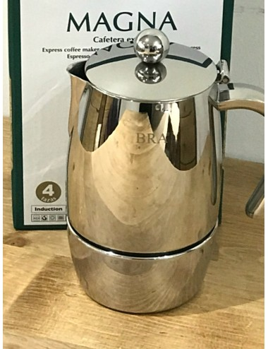 MAGNA - CAFETIERE ITALIENNE INOX tous feux...